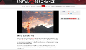 Brutal Rresonance video grab