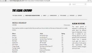 The Equal Ground screen grab