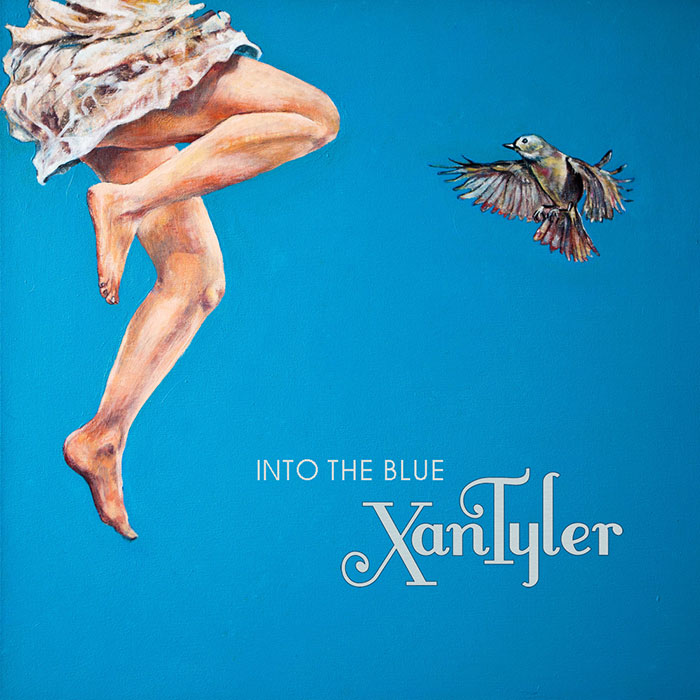 Into the blue front cover
